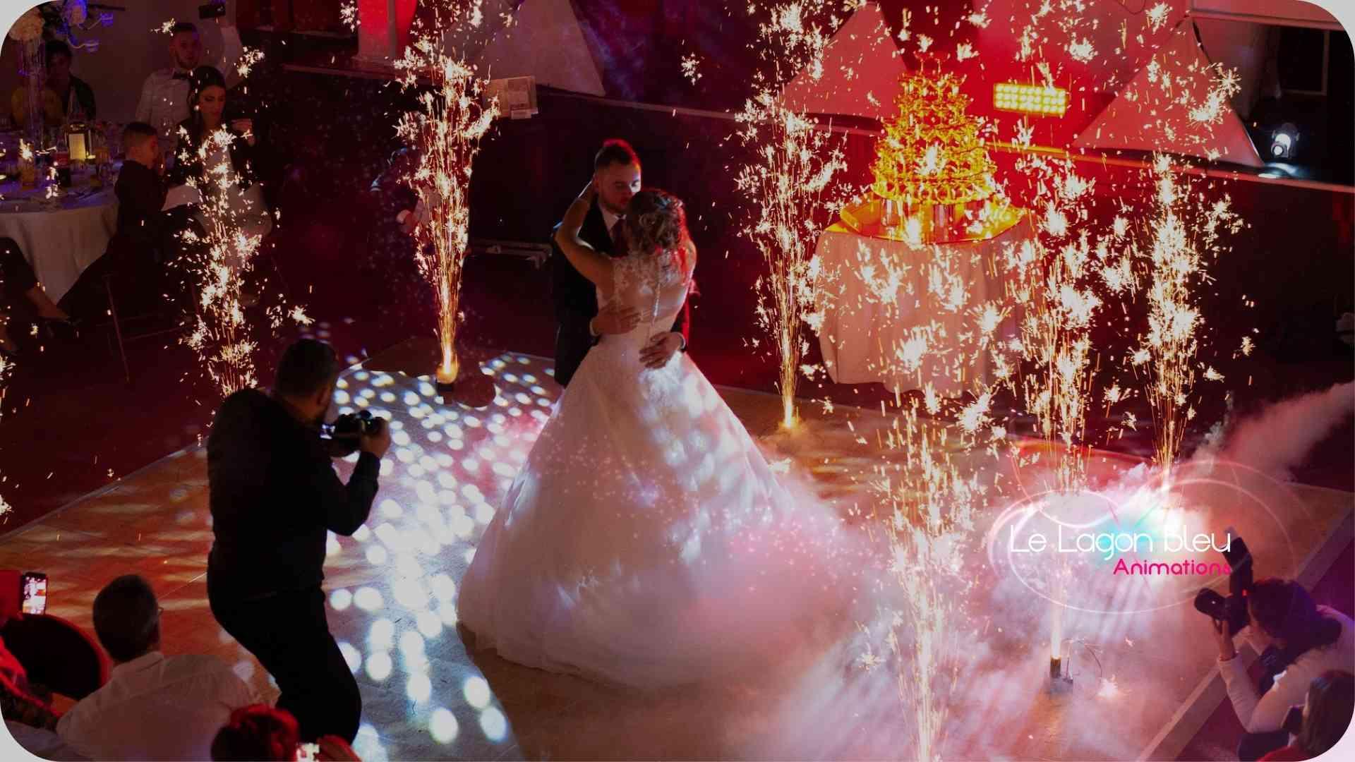 Ouverture de bal, mariages, le lagon bleu animation